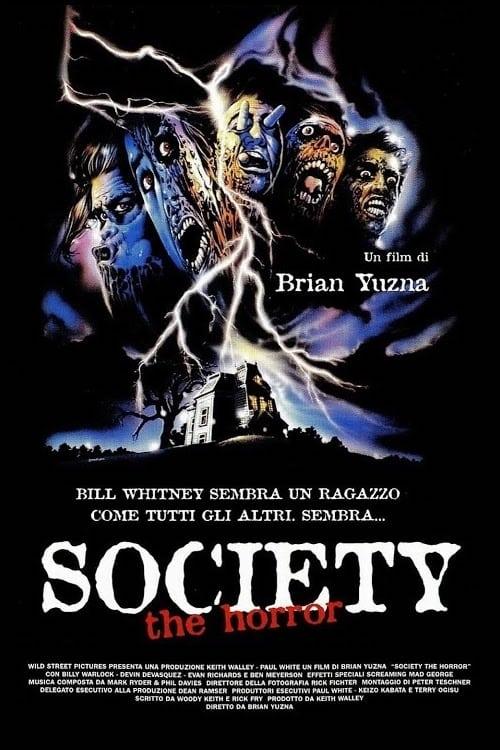 Society - the horror (1989)
