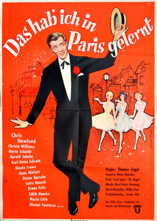 Mira La Película Das hab ich in Paris gelernt En Buena Calidad Hd 720p