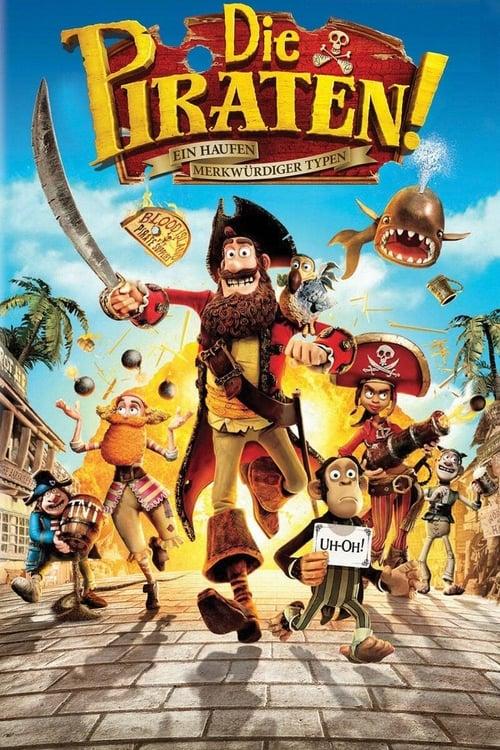 Die Piraten - Ein Haufen merkwürdiger Typen - Poster