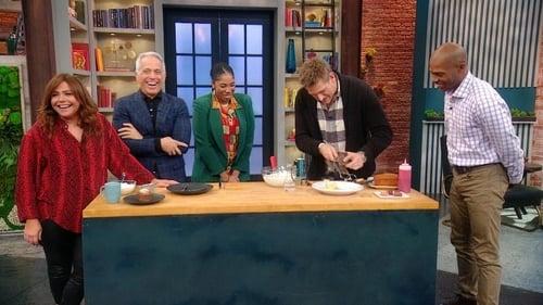 Rachael Ray - Season 13 - Episode 130: Chefs Curtis Stone + Geoffrey Zakarian Answer Your Food FAQs + Dr. Ian Smith's Oat Milk Recipe