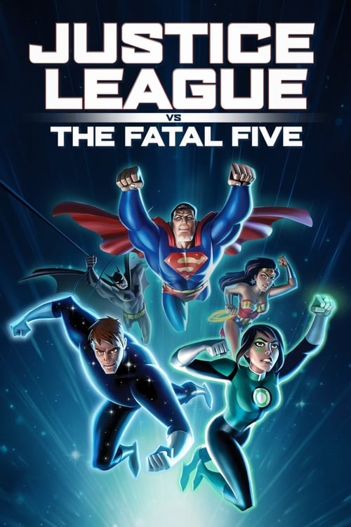Poster. Justice League vs. the Fatal Five (2019)