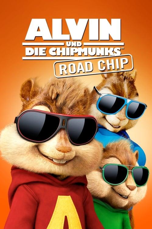 Poster von Alvin und die Chipmunks - Road Chip