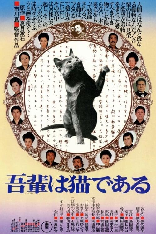 I Am a Cat (1975) Poster