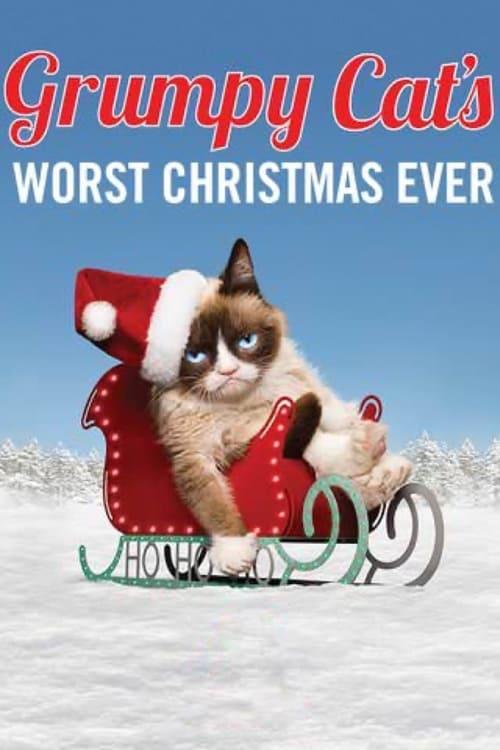 Grumpy Cat's Worst Christmas Ever (2014) Poster