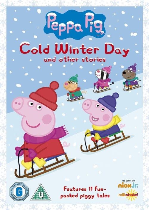 Peppa Pig: Cold Winter Day and other stories MEGA