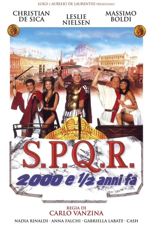 Largescale poster for S.P.Q.R. - 2000 e ½ anni fa