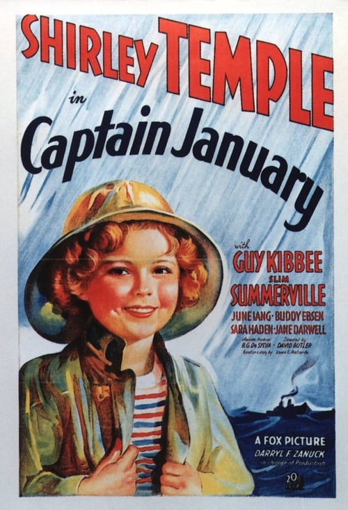 Captain January poster