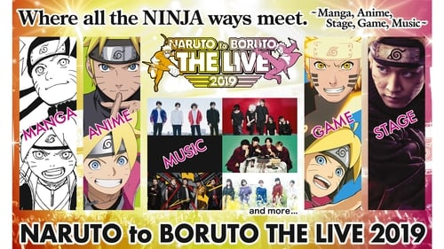 Subtitles NARUTO to BORUTO The Live 2019 (2019) in English Free Download | 720p BrRip x264