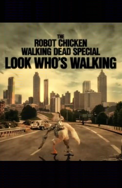 Poster. The Robot Chicken Walking Dead Special