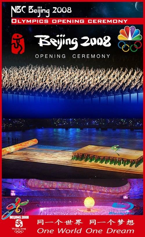 NBC Beijing 2008 Olympics Opening Ceremony MEGA