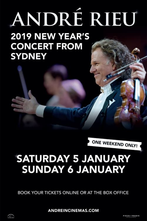 Watch André Rieu - New Year's Concert from Sydney Online Hollywoodtake