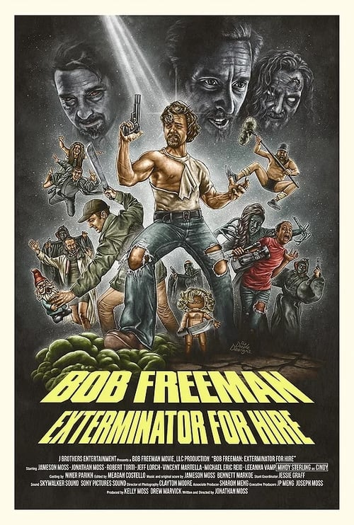 Película Bob Freeman: Exterminator For Hire Doblada En Español