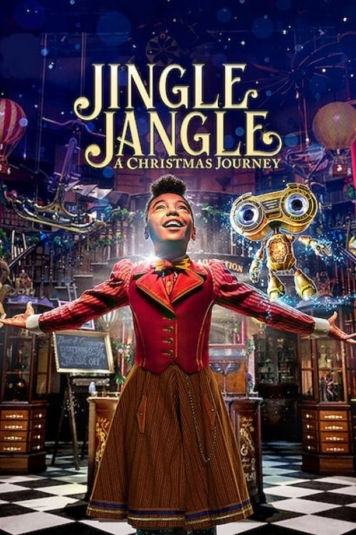 Poster. Jingle Jangle: A Christmas Journey (2020)
