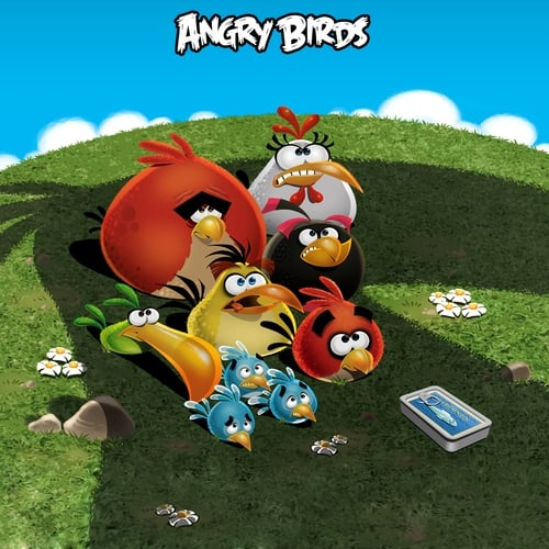 Largescale poster for Angry Birds: Wreck the Halls