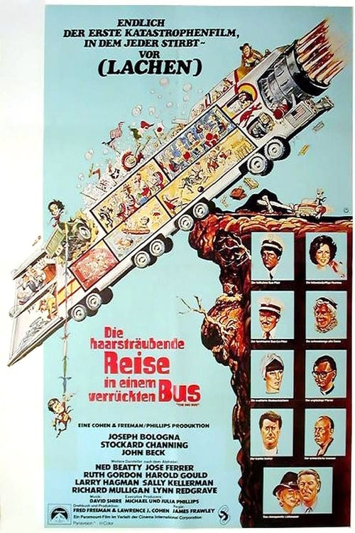 Poster von Die haarsträubende Reise in einem verrückten Bus