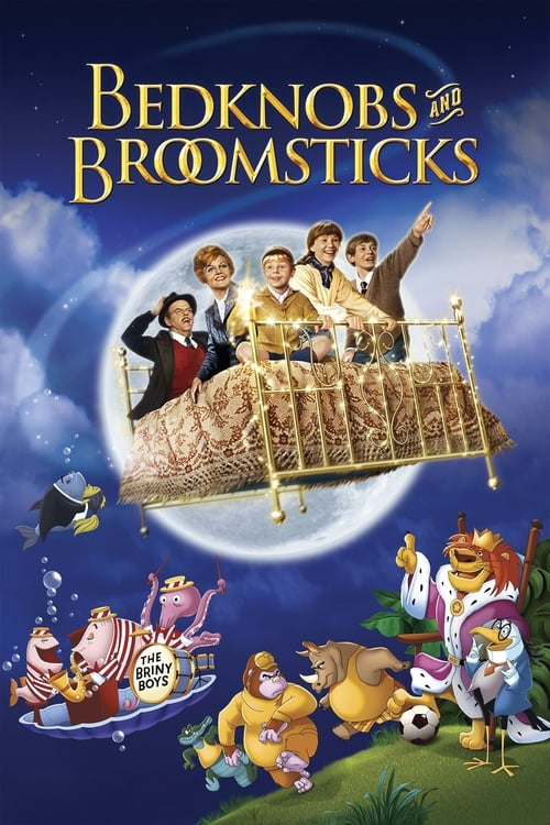 Largescale poster for Bedknobs and Broomsticks