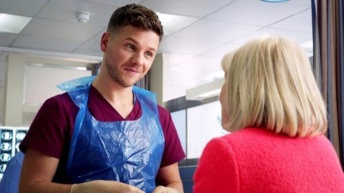 Holby City: Series 18 – Episode Bad Blood, Fake Snow