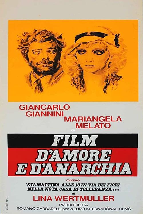 Poster von Liebe und Anarchie