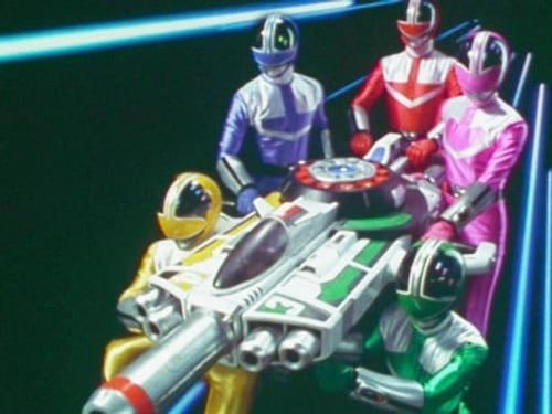 Power Rangers 2001 Full Tv Series: Time Force – Episode A Blue Streak