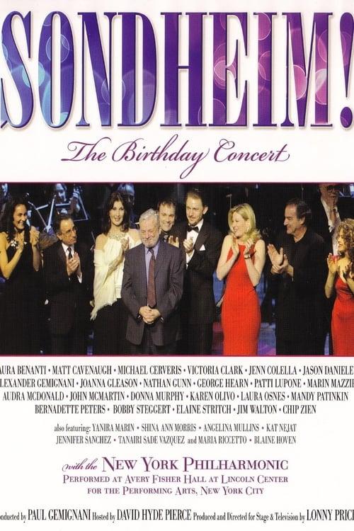 Stephen Sondheim - The Birthday Concert - New York MEGA