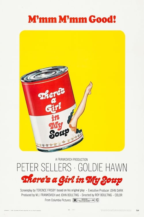 Streaming There's a Girl in My Soup (1970) Full Movie