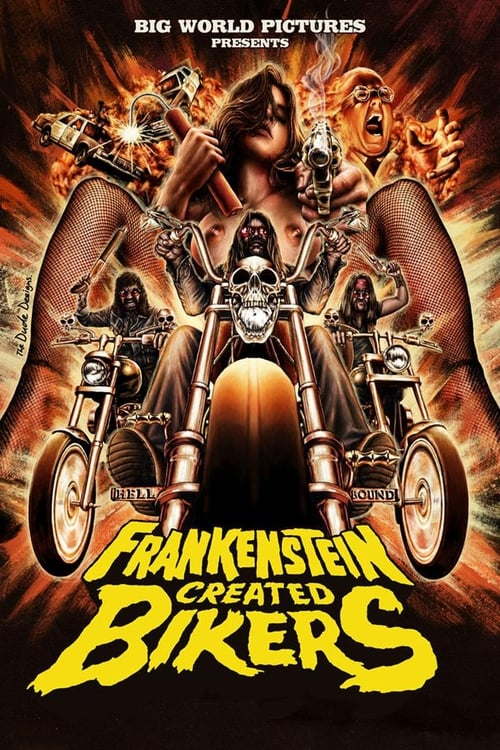 Watch Frankenstein Created Bikers En Español