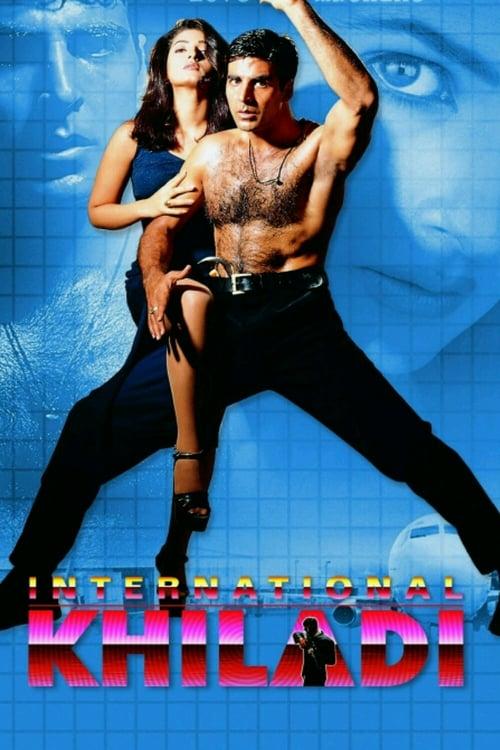 International Khiladi Affiche de film