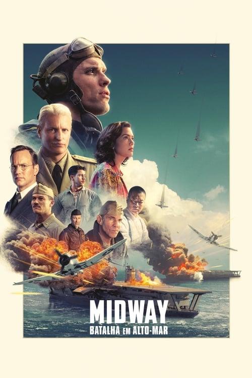 Assistir Midway Batalha em Alto Mar  - Legendado Online Grátis HD