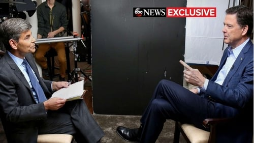George Stephanopoulos on James Comey interview