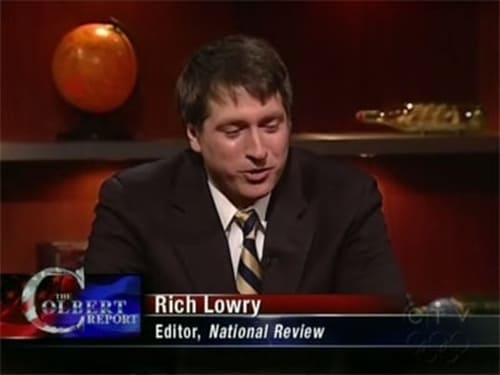 The Colbert Report: Season 5 – Episod Tom Brokaw, Rich Lowry