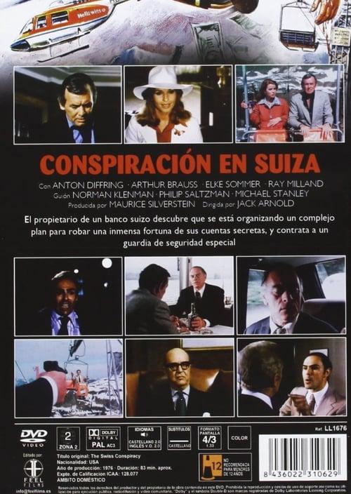 Película Conspiración en Suiza En Buena Calidad Hd