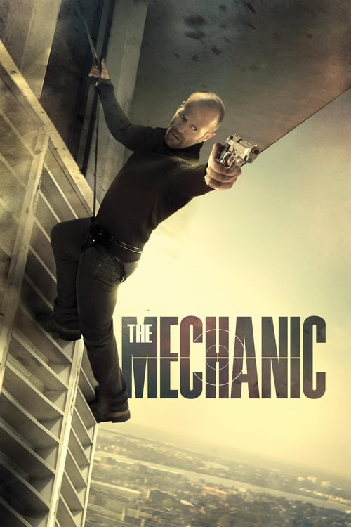 Poster for the movie, 'The Mechanic'