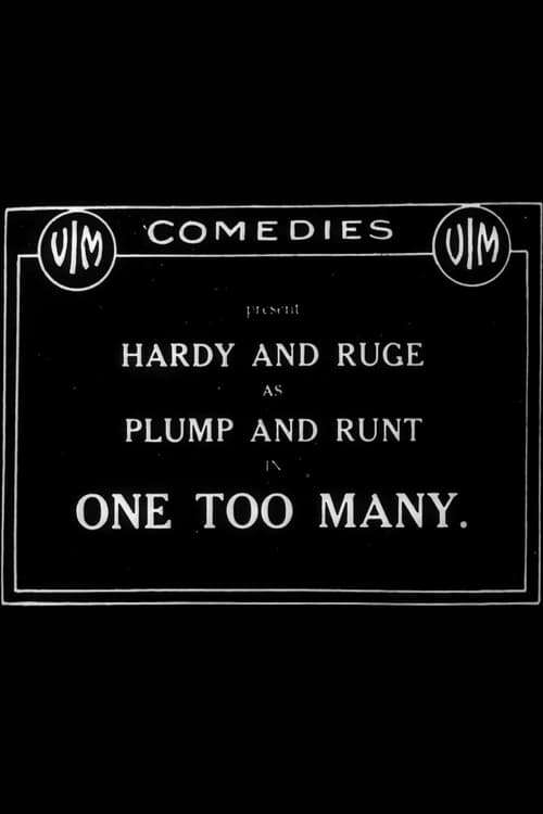 One Too Many (1916)