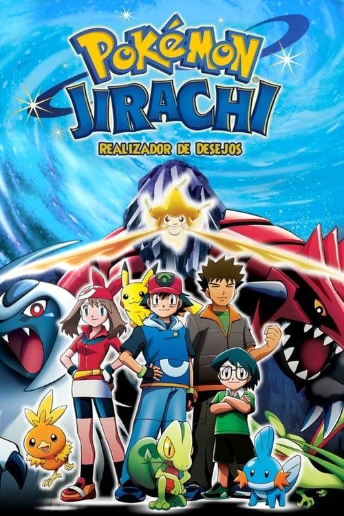 Filme Pokémon 6: Jirachi - Realizador de Desejos Em Boa Qualidade Hd 720p