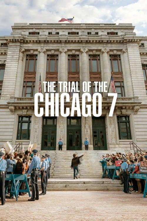 Largescale poster for The Trial of the Chicago 7