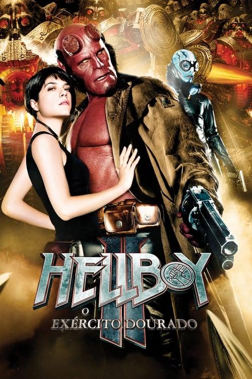 Assistir Hellboy 2 O Exército Dourado -  720p Dublado Online Grátis HD