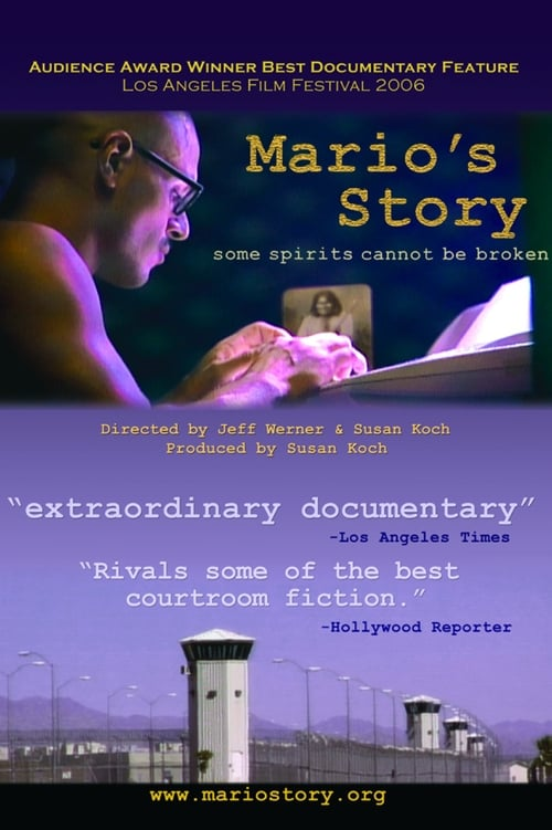 Mario's Story (2006) Poster