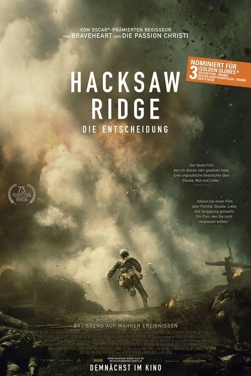 Hacksaw Ridge – Die Entscheidung