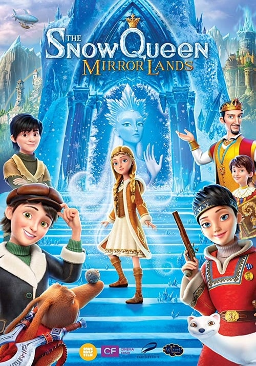 The Snow Queen: Mirror Lands On the page