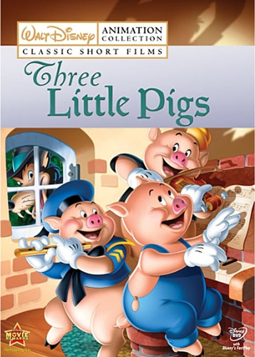 Mira La Película Disney Animation Collection Volume 2: Three Little Pigs Doblada En Español