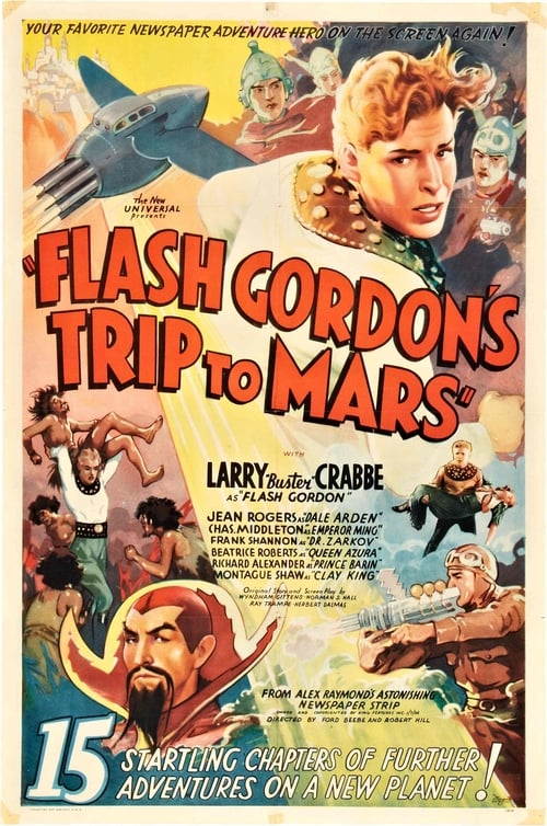 Filme Flash Gordon's Trip to Mars Dublado Em Português