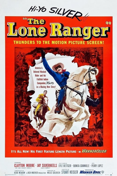 The Lone Ranger 1956 Cast Crew The Movie Database Tmdb