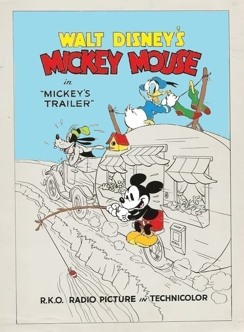 Mickey's Trailer (1938)