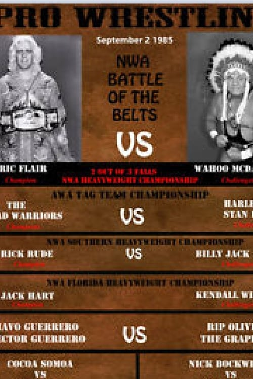 Film NWA Battle Of The Belts I En Français En Ligne