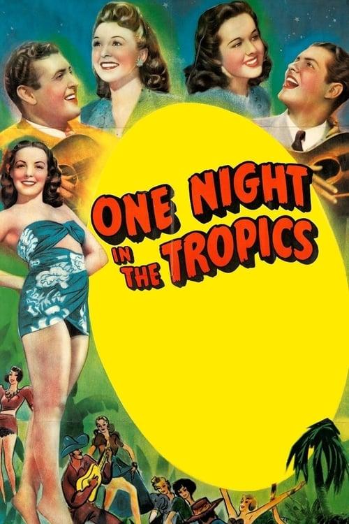 Assistir Filme One Night in the Tropics Em Boa Qualidade Gratuitamente