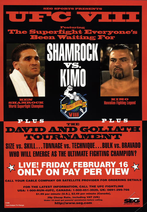 Largescale poster for UFC 8: David vs. Goliath