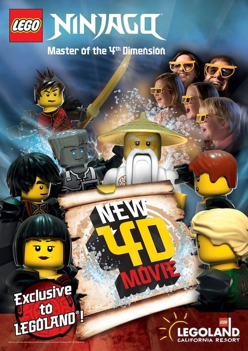 Film Ninjago: Master of the 4th Dimension De Bonne Qualité