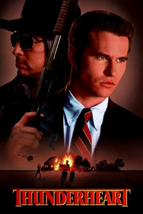 Thunderheart (1992) Poster