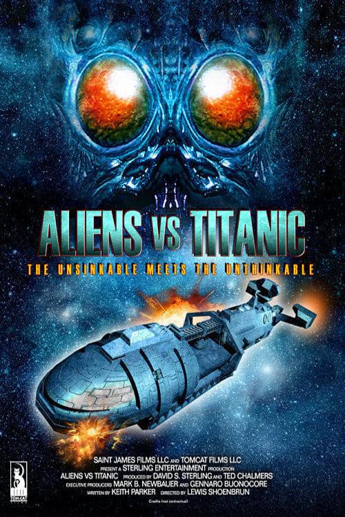 Aliens vs. Titanic poster