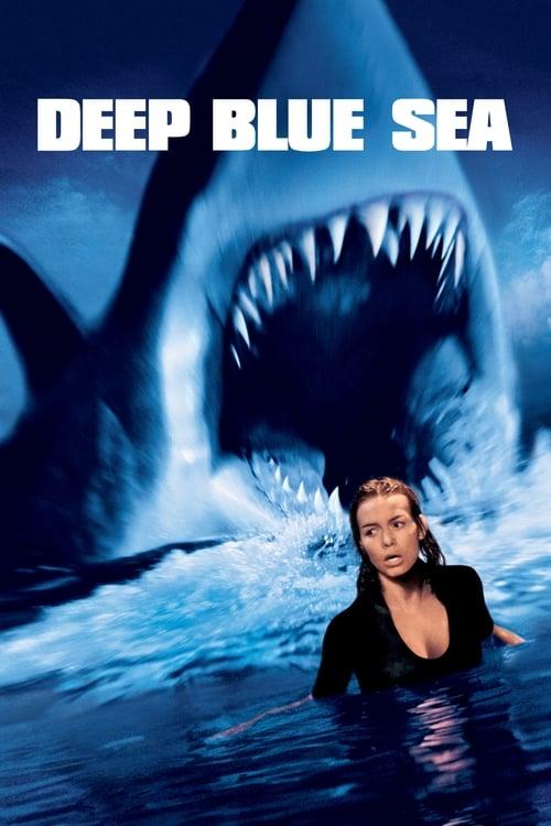 Deep Blue Sea - Poster